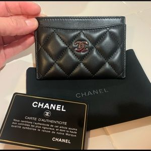 Chanel credit card wallet. Authentic. New!